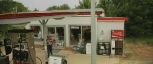 Gas station from hell.