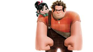 Vanellope and Wreck-It Ralph. Sarah Silverman and John C. Reilly.