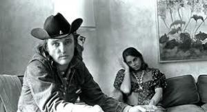 Dennis Hopper and one of his wives, Daria Halprin. From the book.