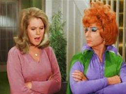 Two brilliant actors - Elizabeth Montgomery as Samantha and Agnes Moorehead as Endora.