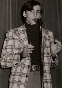 The 1975 Fayetteville High School Talent Show, I got honourable mention.
