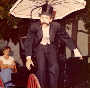 The 1976 Ice Cream Social I was the villain and wrote my own lines...we all did. Great show and great experience.