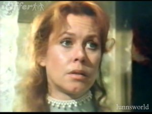 Elizabeth Montgomery as ax murderess Lizzie Borden.