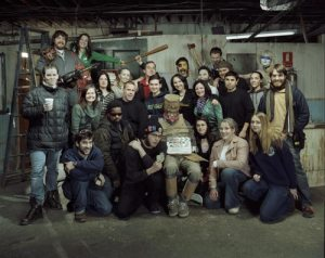 Murder Party Cast and Crew.