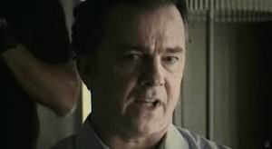 Michael O'Keefe as the humourless Dr Barrett.