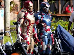 Iron Man and Patriot Man.