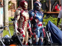 Iron Man and Patriot Man.