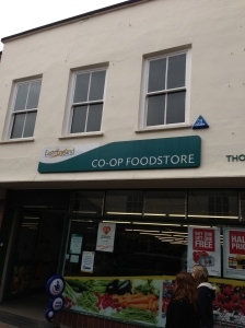 The village shop, if there was ever a shop constant, it would be the Co-operative Store.