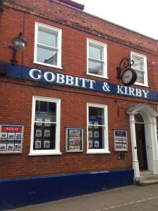 "Considering that the word ""gob"" means your mouth, this is the funniest sign for a real estate agency ever."