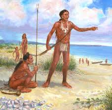 Detailed picture of Karankawa Indians from Unversity of Autin