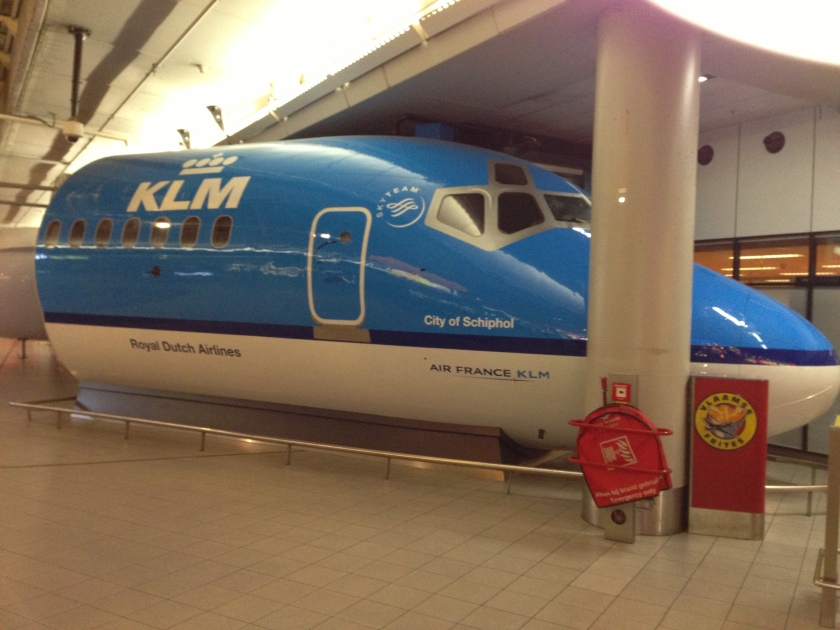 KLM mock-up at Schiphol Amsterdam