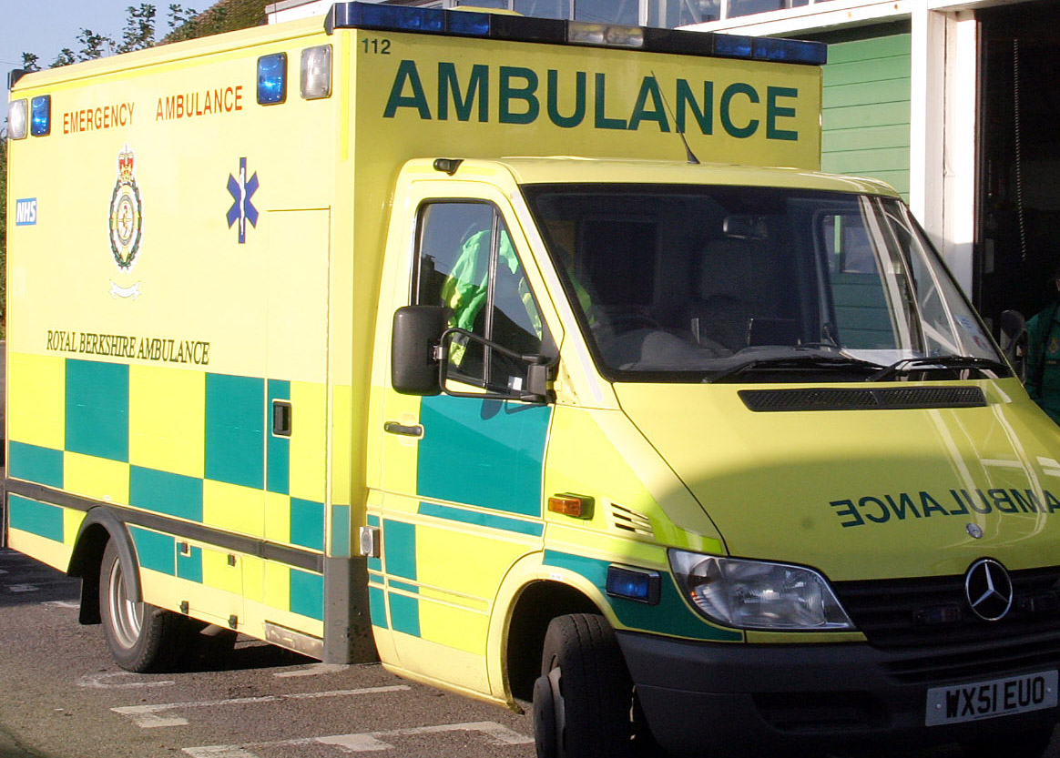 Stock picture of ambulance