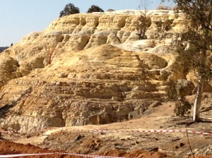 Gold Mine Dump