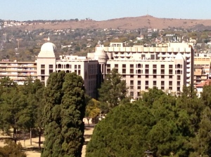 View of Pretoria from the Union Building.