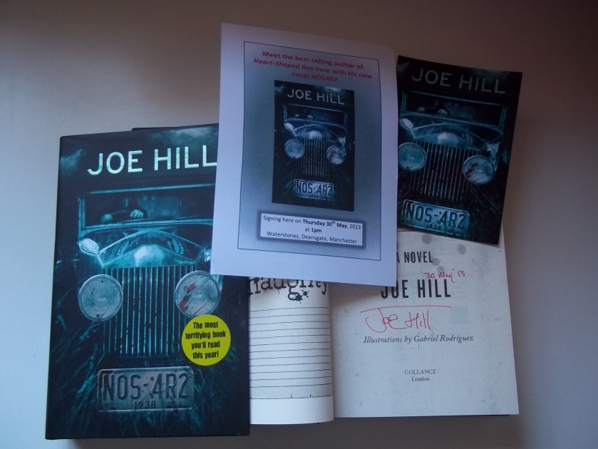NOS4R2 Joe Hill Carrying on a family tradition