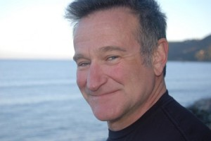 Robin Williams as seaside