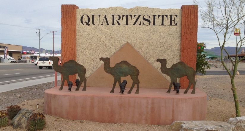 Quartzsite: A Mecca of Retail, Rocks and Rebels