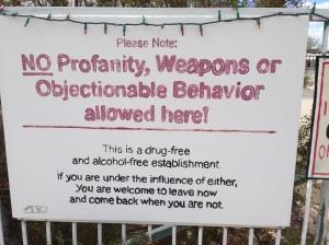 Church Sign...