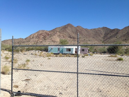 Quartzsite, Arizona mystery mobile home graveyard