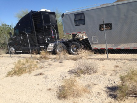 Tour trailer derailed