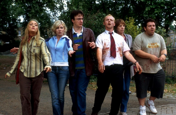 Still from Shaun of the Dead