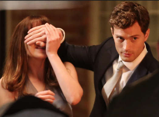 Screen shot of Grey and Steele from Fifty Shades of Grey
