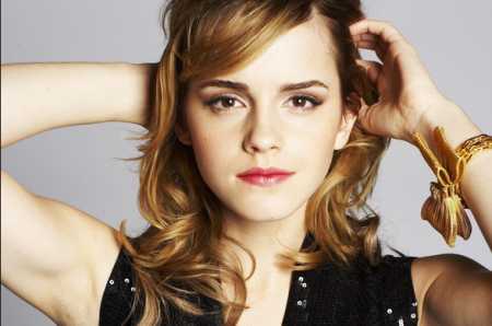 Publicity shot of Emma Watson