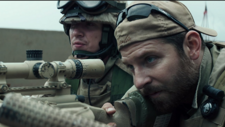 Bradley Cooper as Chris Kyle in American Sniper