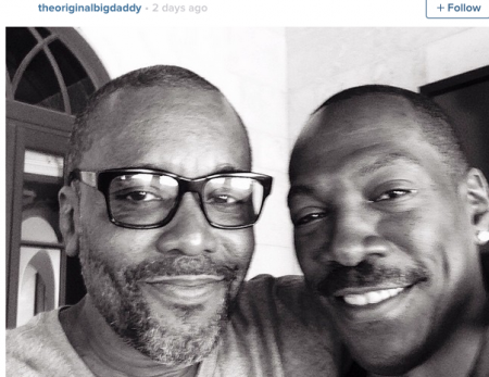 Lee Daniels and Eddie Murphy Instagram