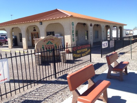 Tyson Wells Visitor Office winding down