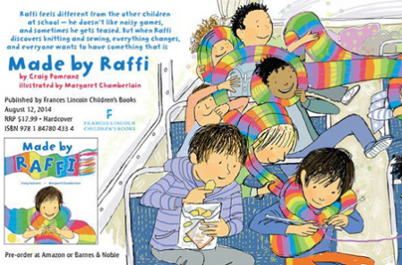 Cover of Made by Raffi Artwork by Margaret Chamberlin