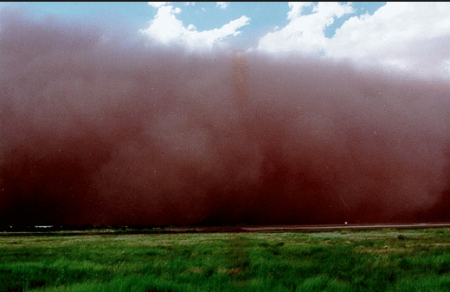 Dust storm picture from Google images